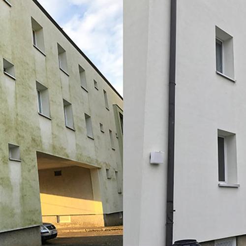 Referenzen Fassadenreinigungen von Malermeister Friedrichs aus Lagesbüttel, Braunschweig und Umgebung