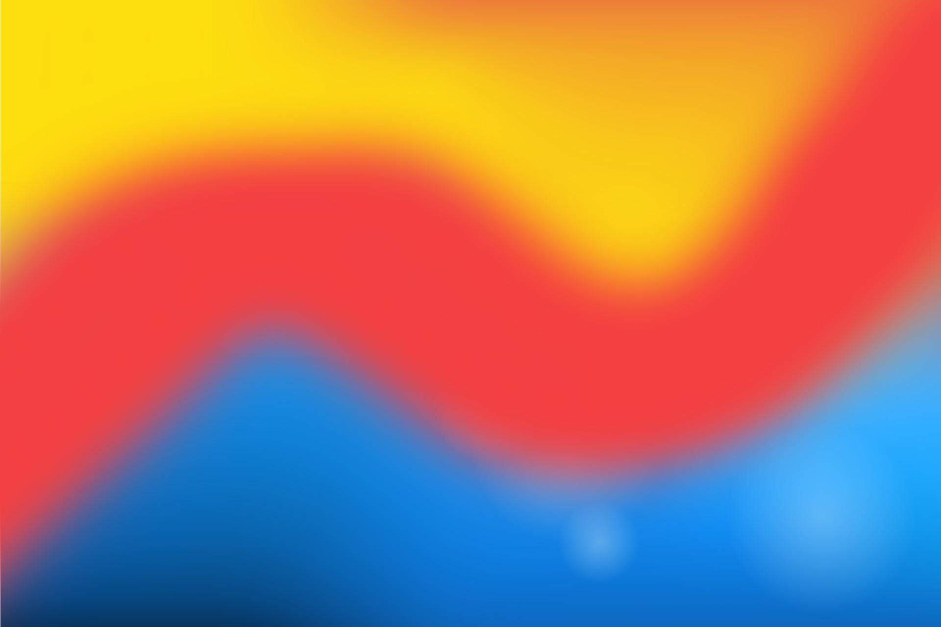 Bunter Hintergrund gelb, rot, blau