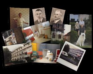 Collage Malermeister Friedrichs in Lagesbüttel und Braunschweig