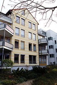 Referenzen Fassadenanstrich Malermeister Friedrichs